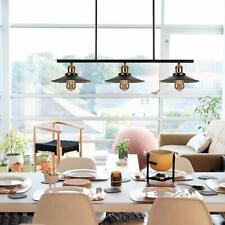 3 Light Black Vintage Pendant Light Ceiling Pool Table Kitchen Island