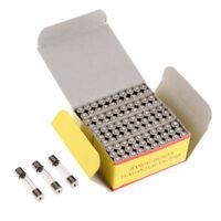 5x T80mAL250V T80mL250V cartridge GLASS fuses 5X20mm 80mA 250V T80mA 250V