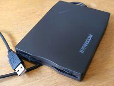 "Freecom 3.5"" 22767 USB portátil externo unidad de disquete trabajando"