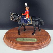Britains England toy soldier lead metal Her majesty the Queen horse mount base