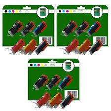 18 Cartuchos de tinta para CANON IP8750 MG7150 MG7550 MX925 NO OEM 550/1 GY