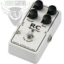 NEW! Xotic Effects RC BOOSTER Pedal - Ultra Clean Boost - Active EQ