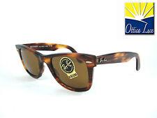 RAY BAN WAYFARER 2140 954 TARTARUGA CALIBRO 50 LENTI BROWN Sunglass Sonnenbrille