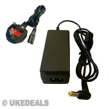 AC Adapter Supply Charger For eMachines EM250 EM 250 UK + LEAD POWER CORD