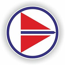 1x Norway Air force Roundel vinyl sticker decal