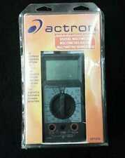 Actron Digital Multimeter Cp7676 Test Fuel injectors & Much More