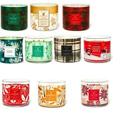 Bath And Body Works Large Scented 3-Wick Candles - New  Collection 2020