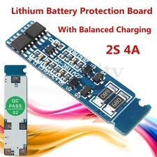 DC 9V 4A 2S Lithium Battery Protection Board Li-ion Cell + Balanced Charging Set