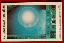 SPACE 1999 - EXPLOSION AS SEEN FROM EAGLE - EX SUNICRUST Card #40 Australia 1975