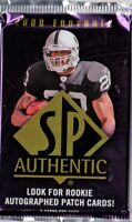 1-2008 UPPER DECK SP AUTHENTIC NFL R/C AUTOGRAPH OR AUTOGRAPH  HOBBY HOT PACK