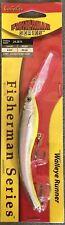 Cabelas Fisherman Series Walleye Runner Fishing Lure Rainbow Minnow