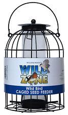 Wild Zone Caged Seed Feeder Wild Garden Bird Feeder