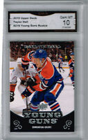 2010 Taylor Hall Upper Deck Young Guns Rookie Gem Mint 10 #219