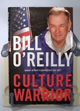 CULTURE WARRIOR SIGNED 1st EDITION BY BILL O'REILLY FOX NEWS THE O'REILLY FACTOR
