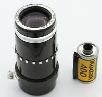 Objectif FOCA TELEOPLAR 4,5/13,5 cm N°127235 Vers 1963 monture à baïonnette