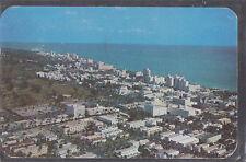 Skyline of Miami Beach Fla 1950 stamp   -  #58