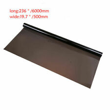 "19.7"" x 265"" Car Window Tint Film 15% Black Auto Home Glass Sun Shade Cover Roll"