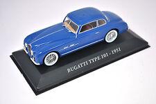 Voiture modèle réduit collection 1/43ème Bugatti type 101 de 1951
