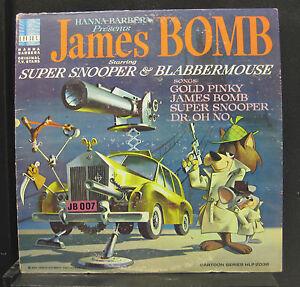 Super Snooper & Blabbermouse - James Bomb LP VG+ HLP 2036 1st 1966 Vinyl Record