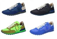 INVICTA Scarpe Uomo Sneakers in Camoscio e Tessuto con Vari Colori