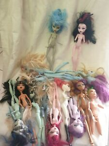 Bulk Lot Monster High Dolls Assorted Body Parts Replacements