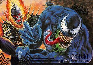 VENOM AND VENGEANCE / Spider-Man Fleer Ultra 1995 BASE Trading Card #108