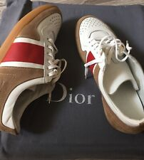 NEW Dior Homme B06 low top leather sneakers BEE embroidery Hedi Slimane Grail 40