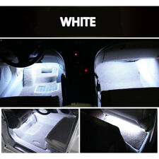 4pc White 9 LED Charger Interior Decorative Light Lamp Bulbs Car SUV Accessories