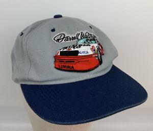 Vintage Darrell Waltrip NASCAR Racing Gray Snapback Hat Adult One Size