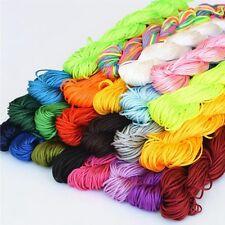 1mm 24m DIY Chinese Knotting Nylon String Beading Bracelet Thread Cord String