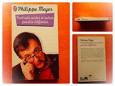 Portraits acides et autres pensées édifiantes -Philippe Meyer -J'Ai Lu N° 5776