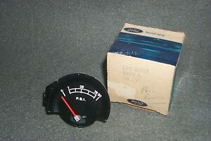 NOS Engine Oil Pressure Gauge 1970 1971 Mercury Montego/Cyclone GT Spoiler-Dash