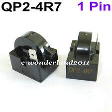 2× QP2-4R7 Start Relay Refrigerator PTC 4.7 Ohm 1Pin Vissani Danby Compressor
