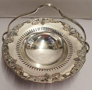 Vintage KG Luke Paramount Rhine-Gold Silver Plate Bon Bon Made in Melbourne 1950