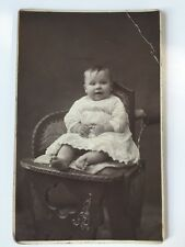 Vintage Postcard Photograph - Real Person - Unknown Baby
