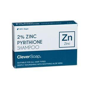 2% Zinc Pyrithione (Anti-Dandruff) Shampoo Bar - Clever Soap