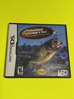 🔥 Nintendo DS 🔥 💯 COMPLETE WORKING GAME 🔥 PROFESSIONAL FISHERMAN TOUR 🔥