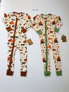 24M NEW Earthy Organic Cotton Baby Boys Clothes LOT AH