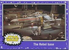 Star Wars JTTFA Purple Parallel Base Card #37 The Rebel base