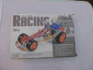 "CAR Model RACING BUGGY CAR - Metal Plastic Parts by ""Intelligent Assembly Toys"""