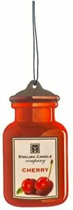 English Candle Company Car Air Freshener - Cherry (Hanging Card)