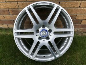 "GENUINE 18"" MERCEDES E CLASS REAR ALLOY WHEEL MERC W207 ALLOYS A2074011402"