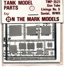 ON THE MARK MODELS TMP-3521 - 1/35 PHOTO-ETCHED GUN TUBE LINING N°5 SOVIET WWII