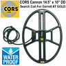 """CORS CANNON 14.5"""" x 10.5"""" DD Search Coil for Garrett AT GOLD Metal Detector"""