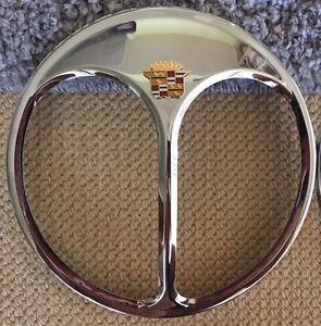 Pair Cadillac Vintage Auto Parts Headlight Part