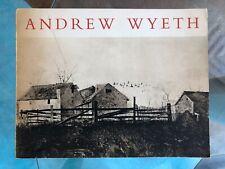 Andrew Wyeth Exhibit Catalog Fogg Art Museum, Harvard, MA,1963