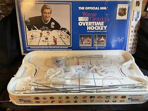 Wayne Gretzky's Overtime Hockey Table Game 99 Los Angeles Kings Rangers Nets