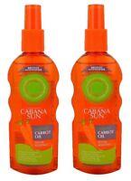 Cabana Sun Original Carrot Oil Accelerates Tanning 2 x 200ml