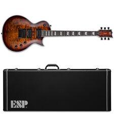 ESP LTD EC-1000 Evertune ET QM Dark Brown Sunburst DBSB Guitar +Hardshell Case