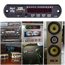5V 3W Mini Mp3 Decoder Board Usb Tf Reader+Ir Remote Controller Player for Car